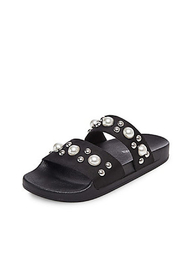 Steve Madden Pearl Slide - Side cropped