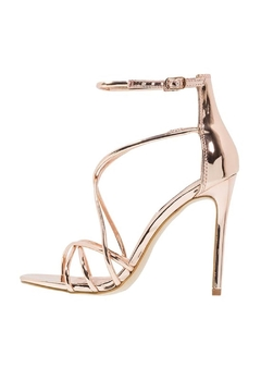 Shoptiques Product: Satire Rose-Gold Heel
