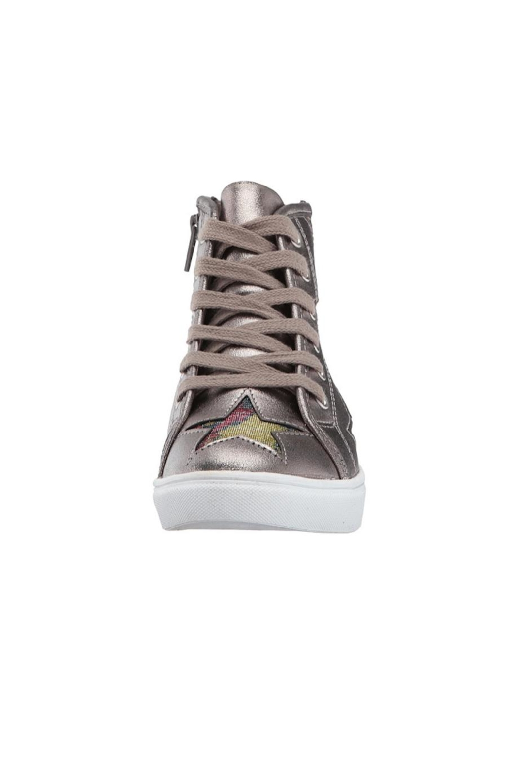 Steve Madden Star Cut-Out Sneaker - Front Full Image