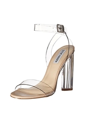 Steve Madden Teena Clear Heel - Front cropped