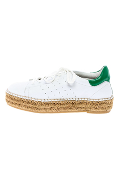 Shoptiques Product: White Sporty Espadrilles