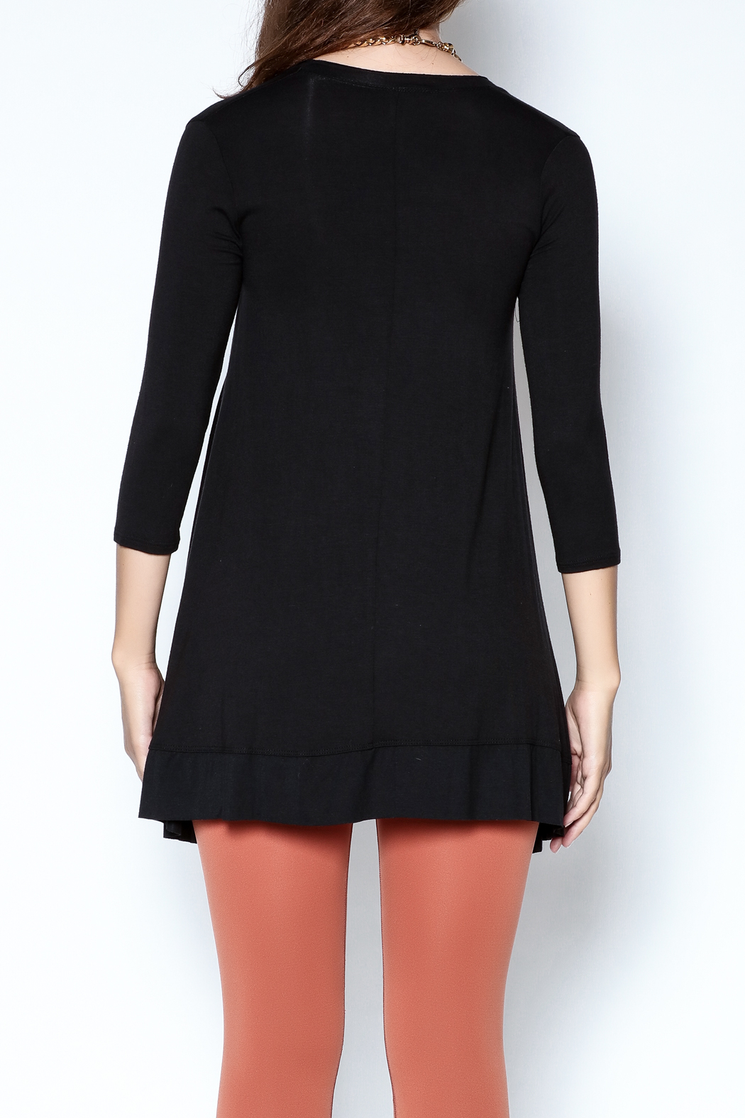 Steven Edwards Layering Tunic Top - Back Cropped Image