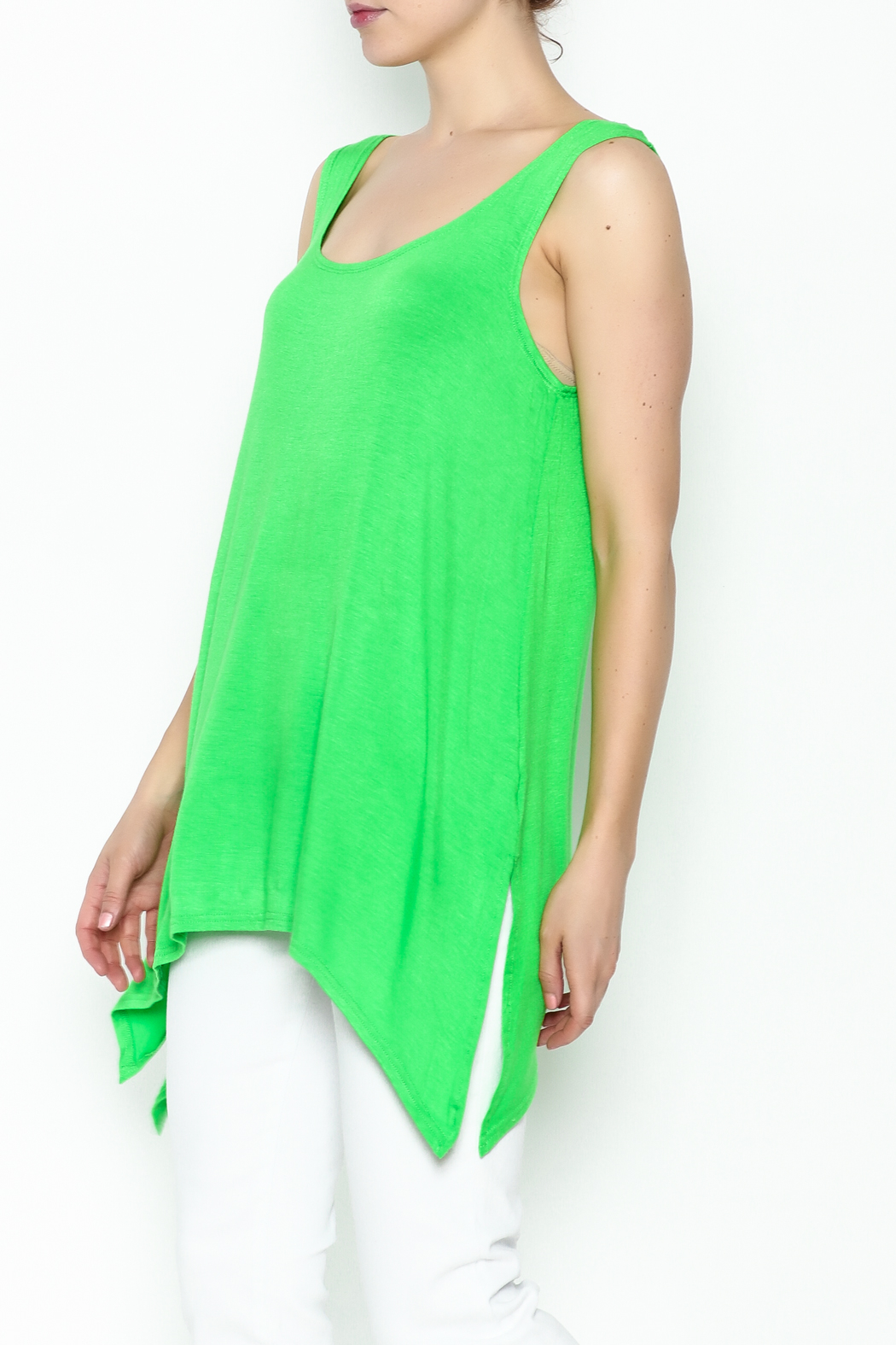 Steven Edwards Shark Tail Tunic - Front Cropped Image