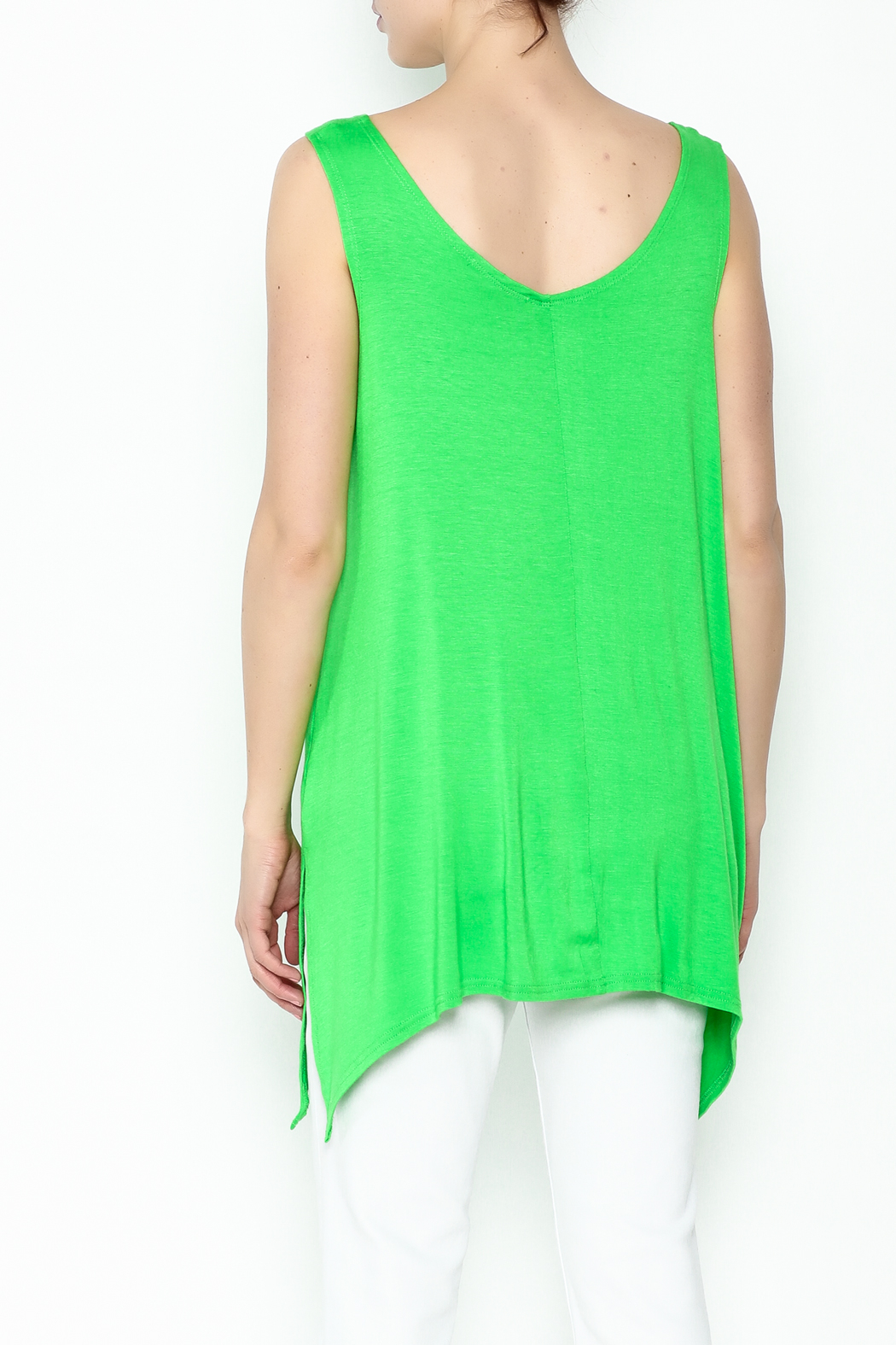 Steven Edwards Shark Tail Tunic - Back Cropped Image