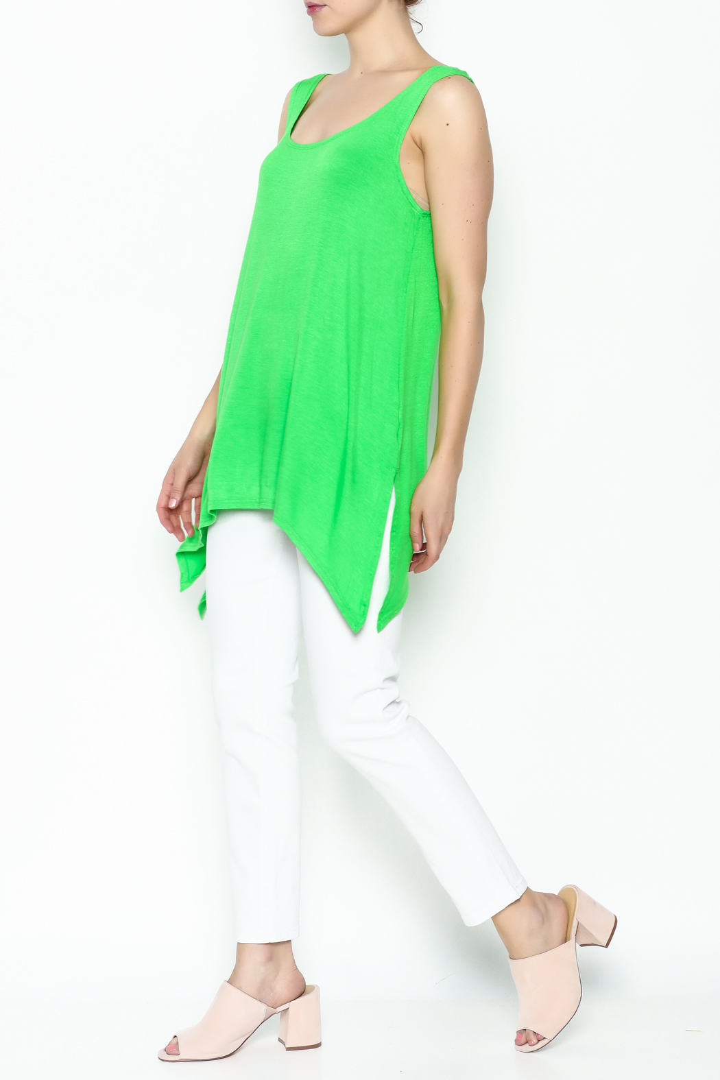Steven Edwards Shark Tail Tunic - Side Cropped Image