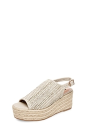 Steven by Steve Madden Courage Wicker Platform - Product Mini Image
