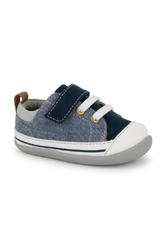 See Kai Run Stevie II Blue Denim Infant Sneaker - Alternate List Image