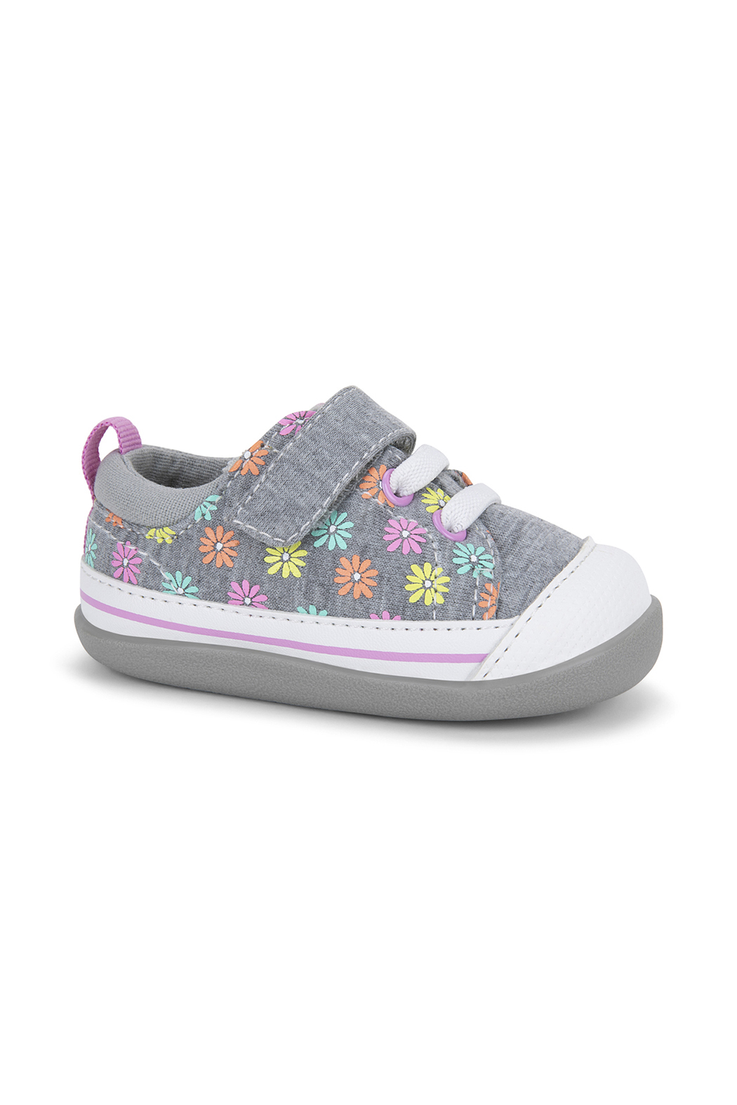 See Kai Run  Stevie II Infant First Walker Sneaker - Front Cropped Image