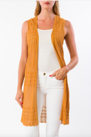 Kerisma Stevie Long Cardi-Vest - Product Mini Image