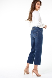Liverpool Jean Company Stevie Stovepipe with Back Cinch - Front full body