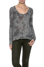 Stevie Tees Burnout Terry Top - Product Mini Image