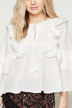 Stevie May Bronte Frill Top - Product List Image