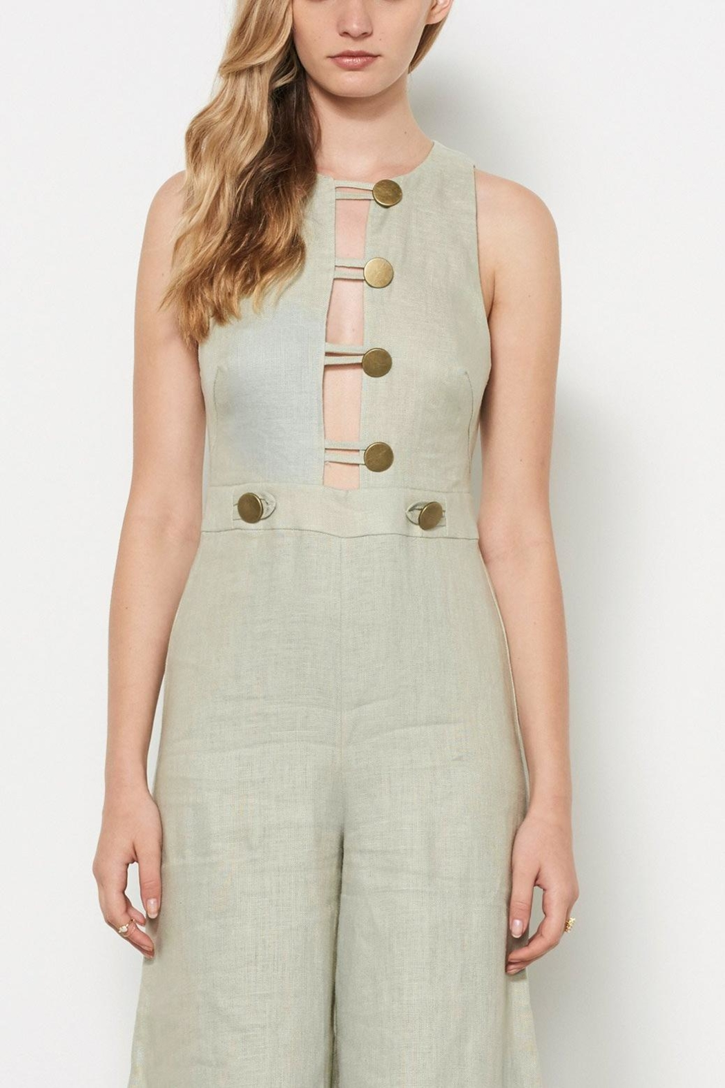 Stevie May Linen Jumpsuit - Main Image