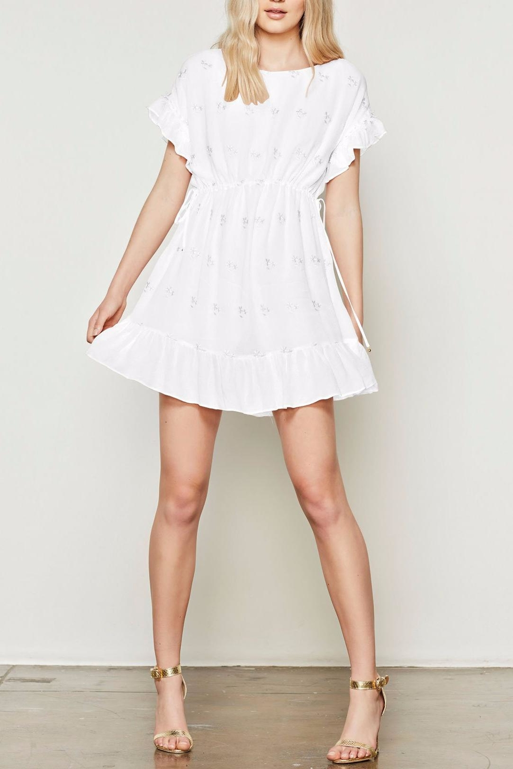 Stevie May White Dress - Front Cropped Image