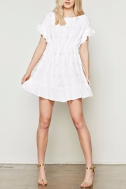 Stevie May White Dress - Front cropped