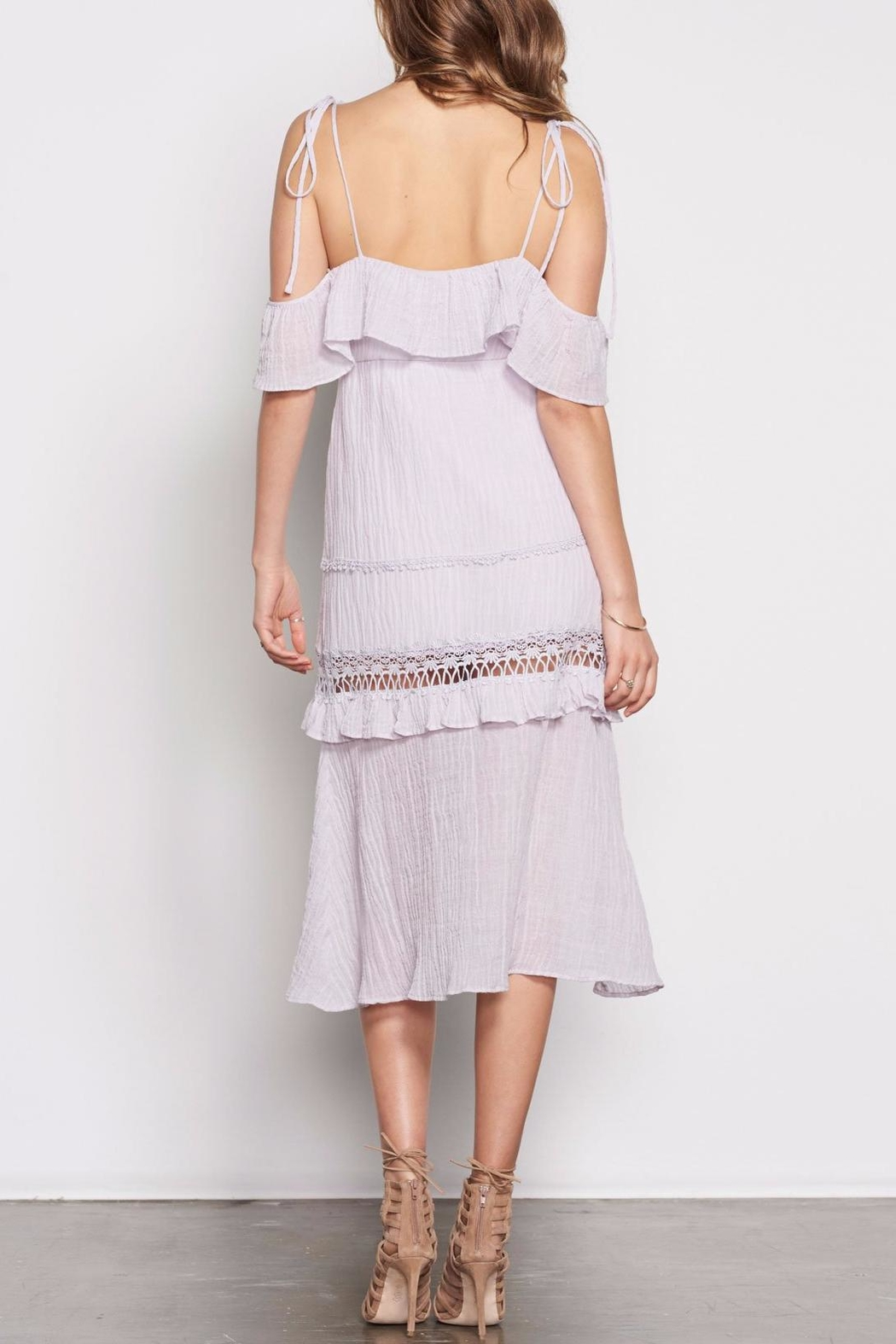 Stevie May Nonchalant Midi Dress - Side Cropped Image