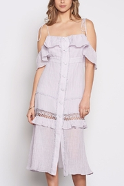 Stevie May Nonchalant Midi Dress - Front cropped
