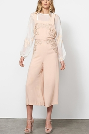 Stevie May Wide Leg Overalls - Back cropped