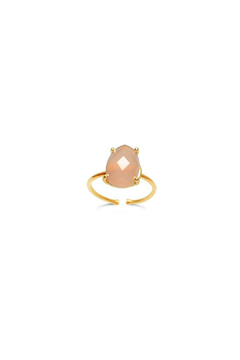 Stia Couture Pink Chalcedony Ring - Alternate List Image