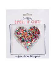 Packed Party Stick To It Confetti Heart - Product Mini Image
