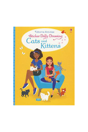 Usborne Sticker Dolly Dressing Cats and Kittens - Product Mini Image