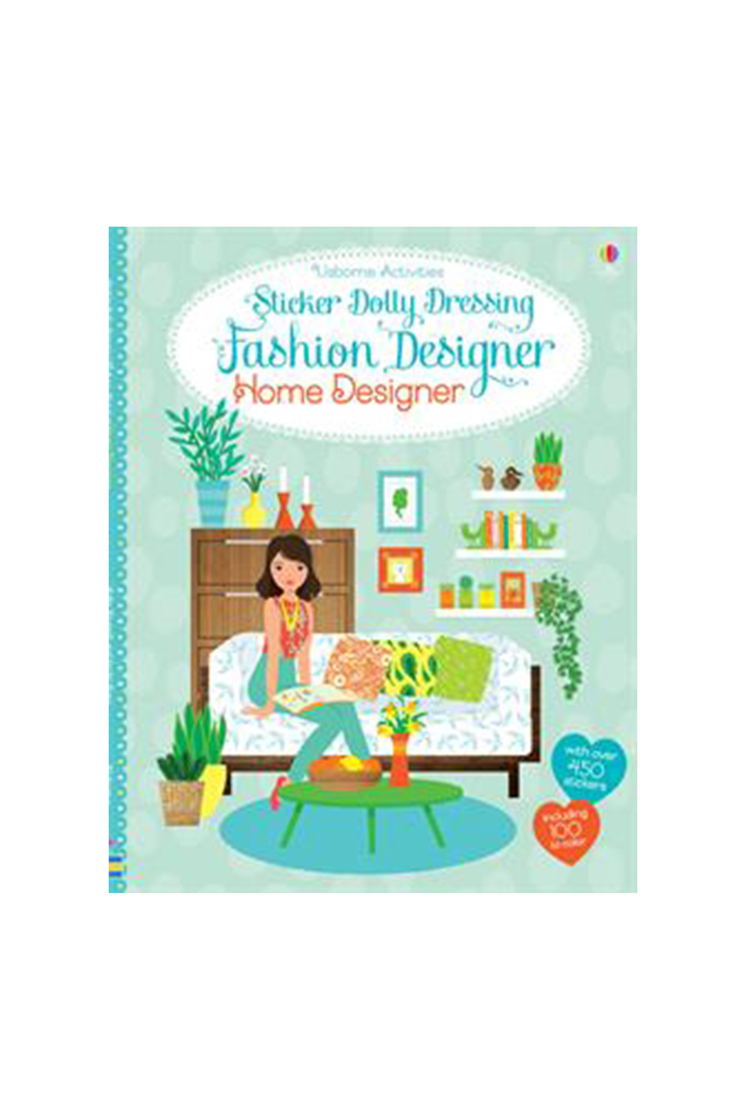 Usborne Sticker Dolly Dressing Fashion Design Home - Main Image