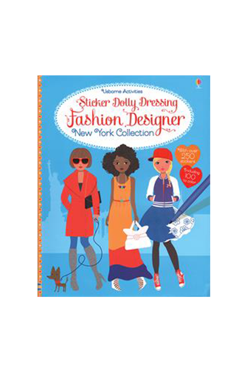 Usborne Sticker Dolly Dressing Fashion Design Studio New York Collection From Oregon By Hopscotch Kids Shoptiques