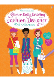 Usborne Sticker Dolly Dressing Fashion Designer Fall Collection - Product Mini Image