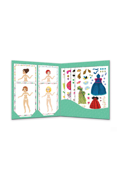 Djeco Stickers & Paper Dolls Fashion Activity Kit - Alternate List Image