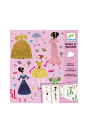 Djeco Stickers & Paper Dolls Fashion Activity Kit - Product Mini Image