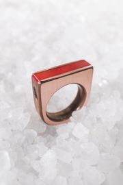 Sticks & Stones Accessories Red Camel-Bone Ring - Product Mini Image