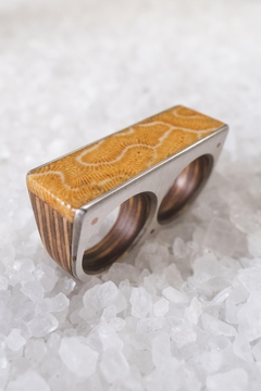 Sticks & Stones Accessories Fossilized Coral Ring - Product List Image