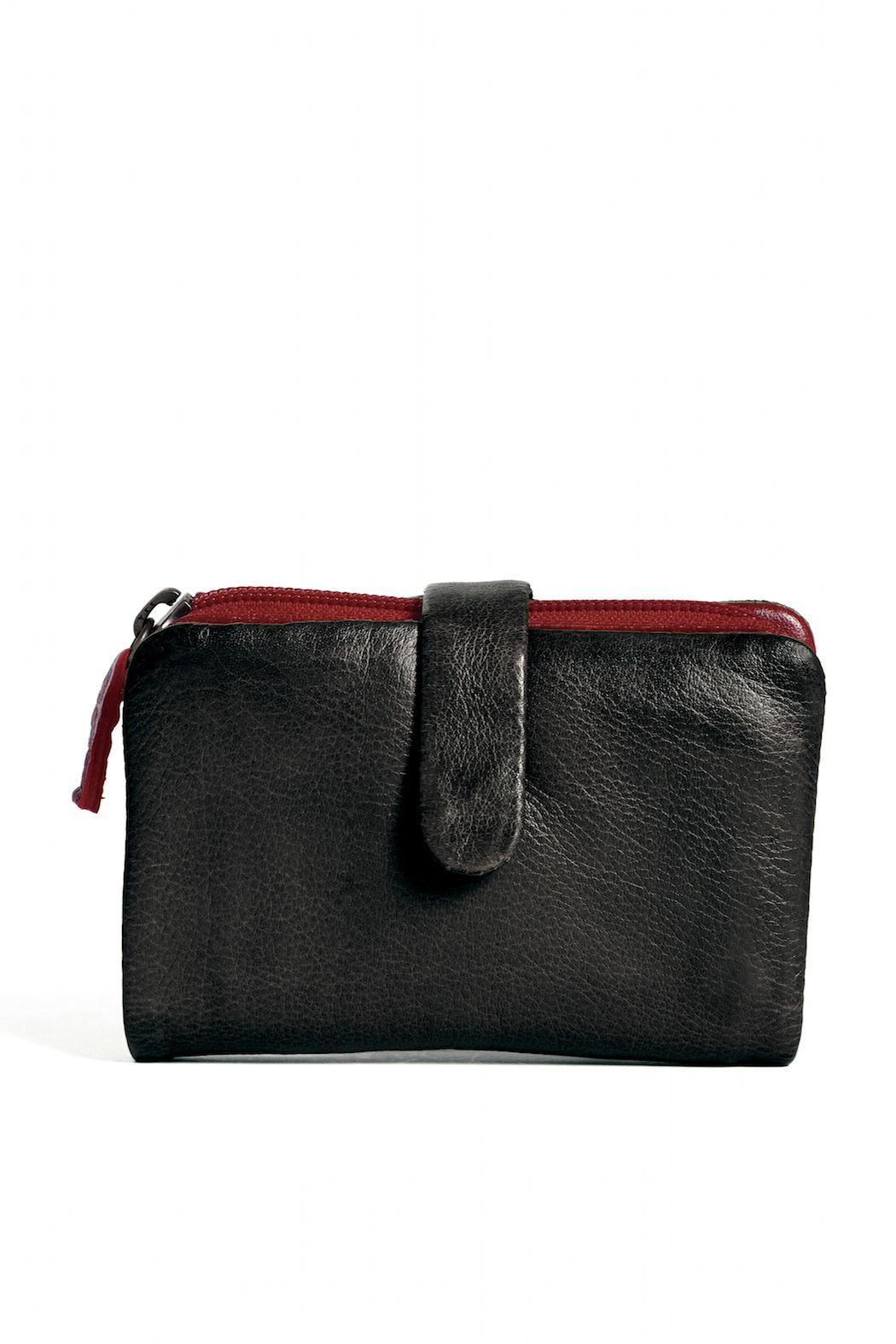 Sticks and Stones Laguna Leather Wallet - Front Cropped Image