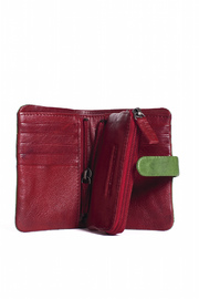 Sticks and Stones Laguna Leather Wallet - Front full body
