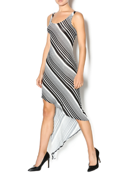 Shoptiques Product: Asymmetrical Stripe Dress