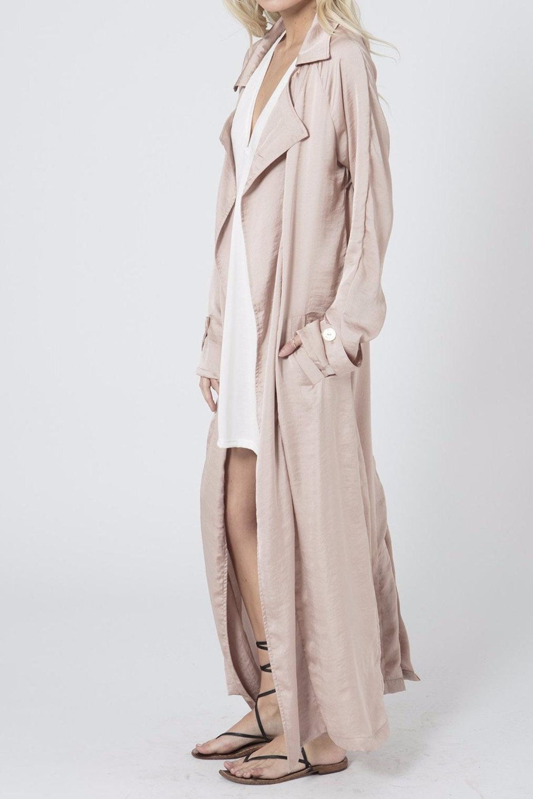 Stillwater All Roads Trench Coat - Side Cropped Image