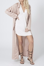 Stillwater All Roads Trench Coat - Front full body