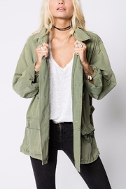 Stillwater Oversized Military Jacket - Front cropped