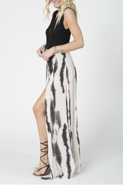 Stillwater Slate Tie Dye Skirt - Front full body