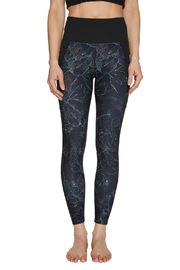 Betsey Johnson Stipple Floral Print High Rise 7/8 Legging - Product Mini Image