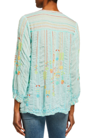Johnny Was Stitch Blouse - Front full body