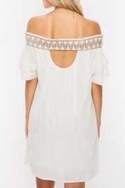 HYFVE Stitch Embroidered Dress - Front full body