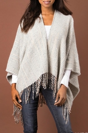 Simply Noelle Stitch-In-Time Fringe Wrap - Product Mini Image