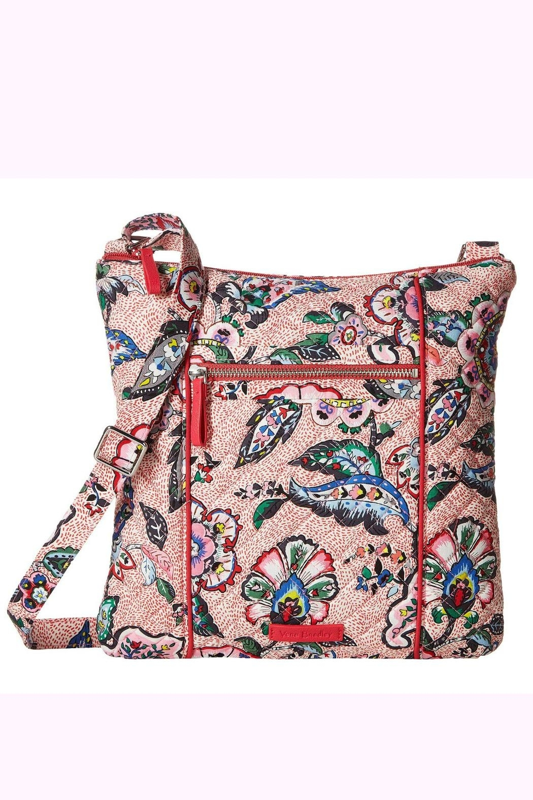 Vera Bradley Stitched Flowers Hipster - Front Cropped Image