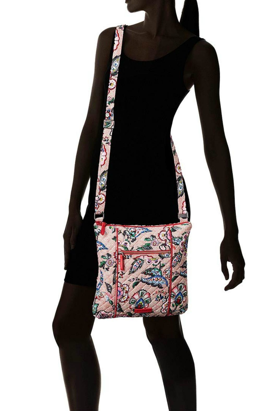 Vera Bradley Stitched Flowers Hipster - Back Cropped Image