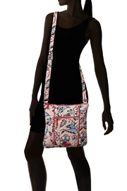 Vera Bradley Stitched Flowers Hipster - Back cropped