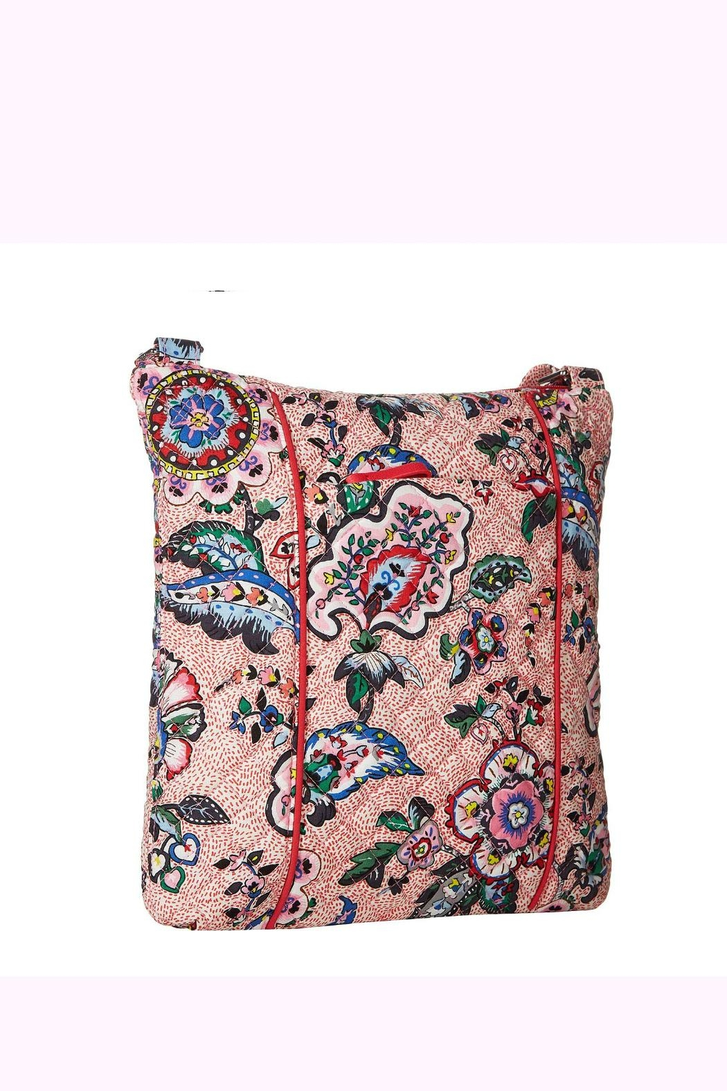 Vera Bradley Stitched Flowers Hipster - Front Full Image