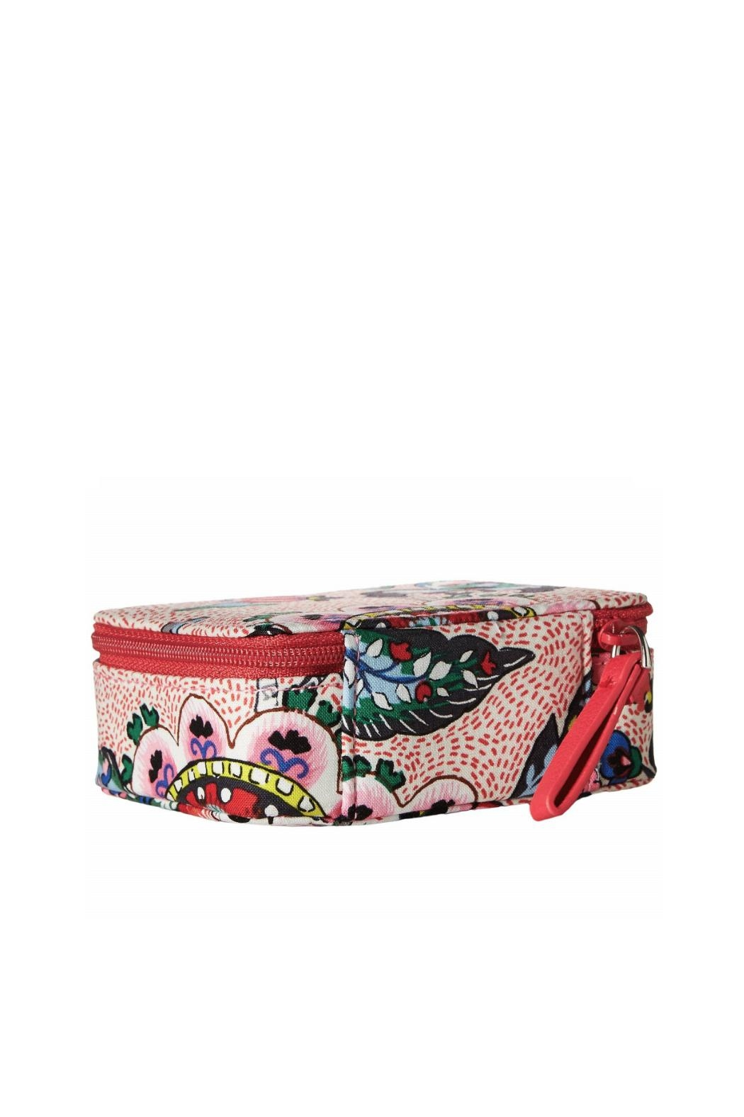 Vera Bradley Stitched Flowers Pill-Case - Front Full Image