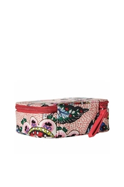 Vera Bradley Stitched Flowers Pill-Case - Front full body