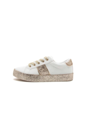 Qupid Stocker Glitter Sneaker - Product Mini Image